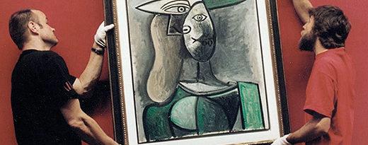 Ausstellungsbetreuung_Hängung Gemälde