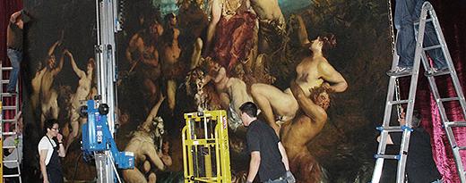 Ausstellungsbetreuung_Arbeitsfoto