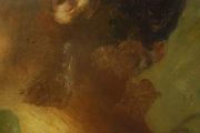 Schadensbild 16_Frauenporträt, 20. Jahrhundert, Öl auf Holz